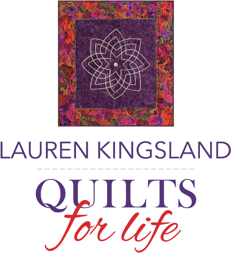 Lauren Kingsland Quilts for Life Logo