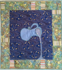 Living Water | Lauren Kingsland | Quilts for Life | One of a Kind Quilts