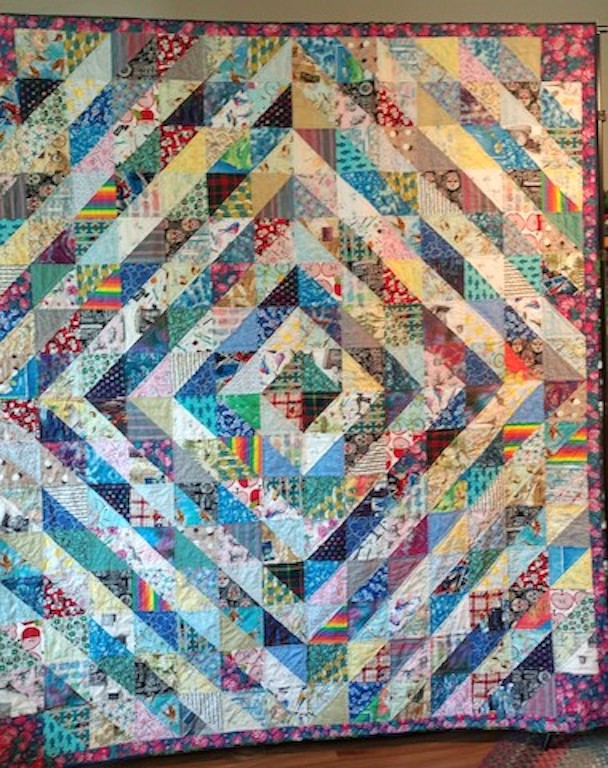 Family contribution quilt - 2020