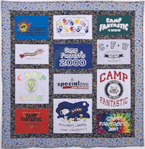 T-shirt quilt for a cause